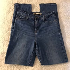 High Waisted Levi's Skinny Jeans